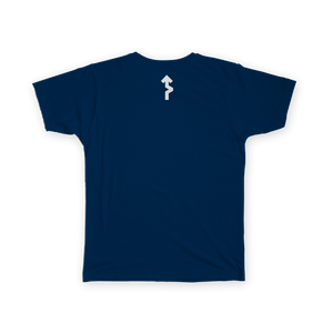 Stages Podcast Tee - Blue - Men's