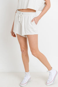 White Leisure Shorts