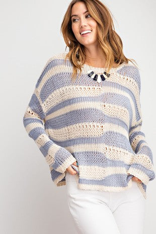 Winter Waves Sweater