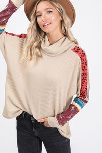 Waffle Patchwork Top