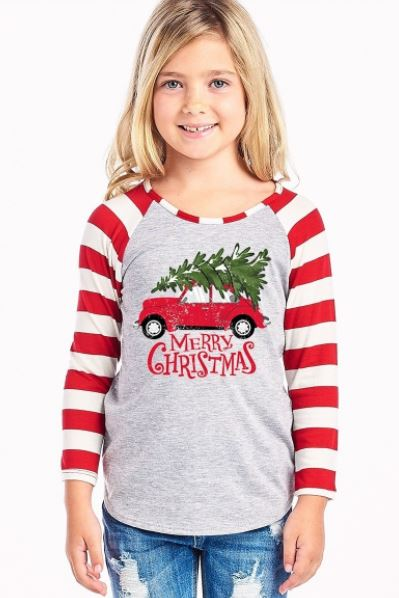 Merry Christmas Long Sleeve Shirt - Child