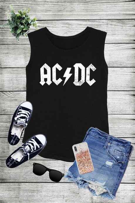 ACDC, Back to black Tank