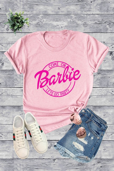 Come on Barbie Let's Go Party Tee