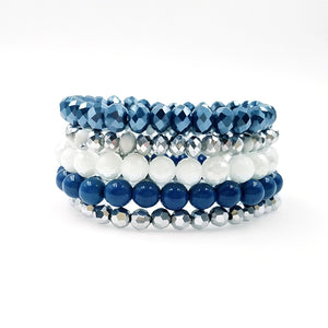 Go Cowboys - Sugar Stack Bracelet Set