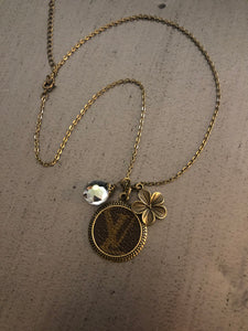 Louis Vuitton Pendant Necklace - 16 Inch - Presale