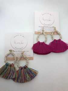 Beads & Tassel Earrings