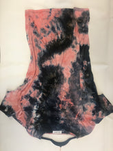 Tie-Dye Lace Up Dress