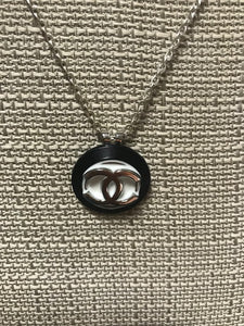 Chanel Upcycled Authentic Designer Button Necklace