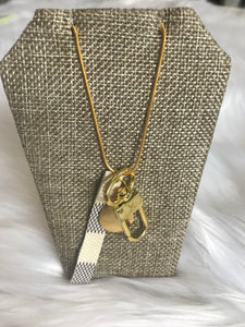 TS - Louis Vuitton Lock Necklace