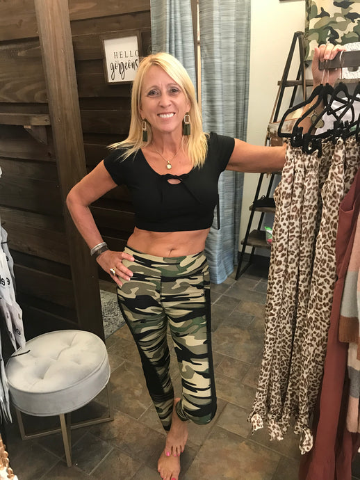 Camo Work Out Leggings
