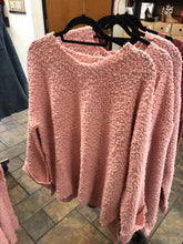 Popcorn Oversized Sweater - Various Colors