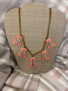 Ruahh Pink & Ice Necklace