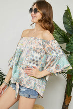 Spring Fling Off the Shoulder Top
