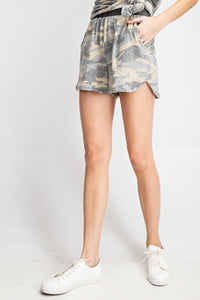 Camo Casual Shorts (2 Color Options)