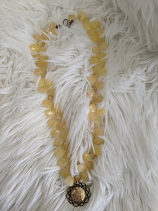 TS110 - Chanel on Artisian Yellow Beads