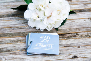 Rad Joy - Prayer Cards Warriors in Training (Younger Kids)