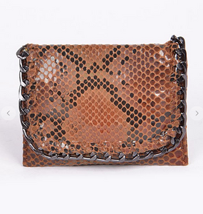 Faux Snakeskin Clutch (Stella Mccartney Inspired)