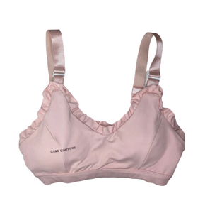 Ruffles & Pink Workout Bra