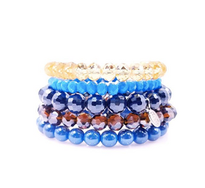Amber Waves - Sugar Stack Bracelet Set