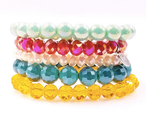 Sweet Summer - Sugar Stack Bracelet Set