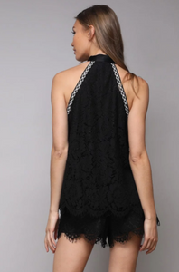 Carina Lace Blouse