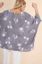 The Lola Top - Cool Grey