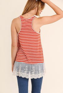 Gracie Lace Tank