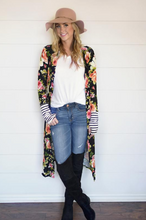 Floral - Whitney Long Thumb Hole Cardi - New for 2018