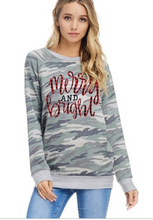 Merry & Bright Camo Long Sleeve