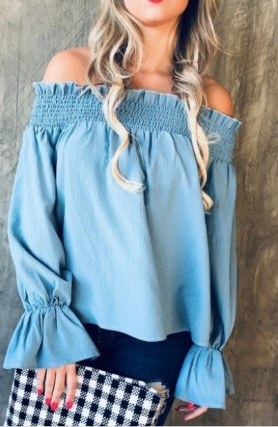 Azul Off the Shoulder Blouse