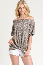 Sassy in Leopard Top