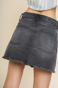 Dark Demin Jean Skirt - RESTOCKED!