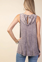 Ash Purple Sleeveless Top - VERY LIMITED QUANTITIES!