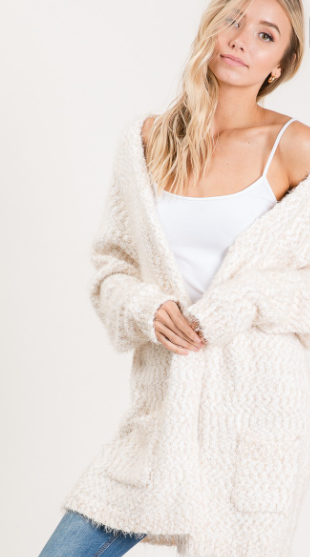 Popcorn Cardi - Various Colors
