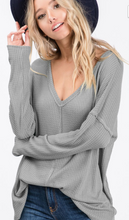 Thermal Waffle V-Neck (Various Colors)