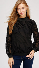 Black Mistletoe Blouse