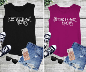 Fleetwood Mac Rumors Tour Tank (2 Colors)