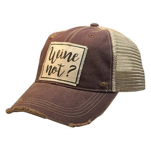 Wine Not Ball Cap