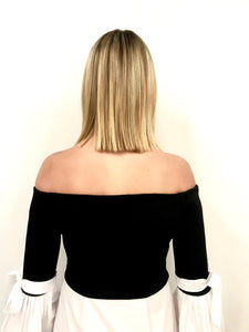 Kiss Me Under the Mistletoe - Off the Shoulder Top