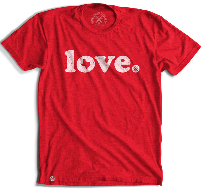 LOVE TEXAS PERIOD Short Sleeve Tee