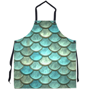 Mermaid Tail Kitchen Apron-Kitchen - Accessories-Cocco Pazzo-Crazy Good™