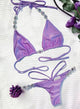 Shanel Triangle Top & Strappy Tango Bottom, Purple-Cocco Pazzo™