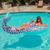 Mermaid Tail Ring Floaty Pool Float