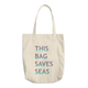 Save The Seas Cotton Everyday Tote Bag-Cocco Pazzo™