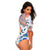 Half Sleeve One Piece Swimsuit-Cocco Pazzo™