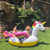 Giant Rainbow Pegasus Floaty Pool Float