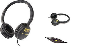 "Garrett metal detectors treasure hunting Easy Stow headphones Padded ear piece ¼"" Phone plug"