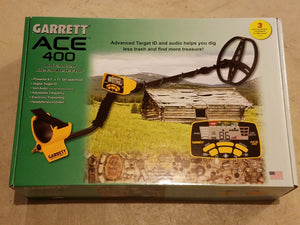 Garrett ACE metal detector treasure hunting coin shooting AT Pro