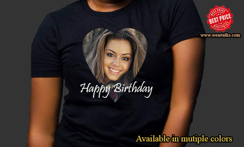 Birthday T-Shirt (Replace with your own picture)