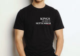 Kings are born in September (Unisex BC300) simple design
